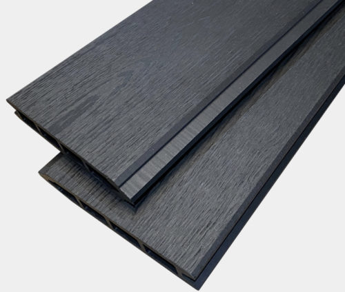 Ancient Black Composite Boards - Wood Effect