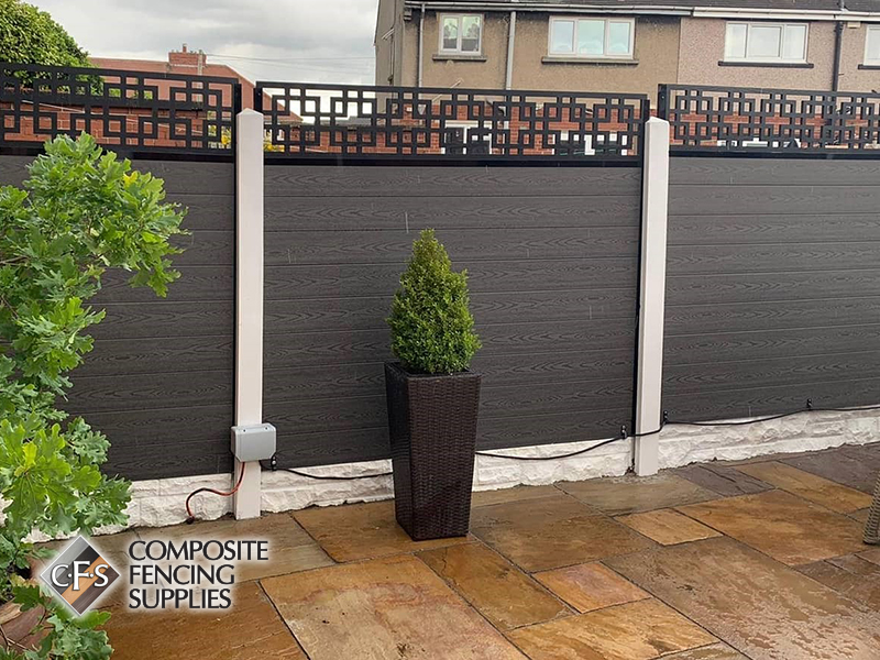 Beautiful composite fencing