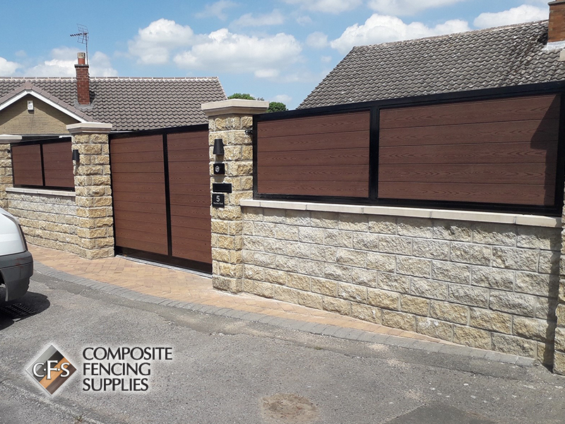 High quality composite gates and fencing, Rotherham